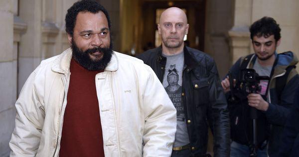 Dieudonné M'Bala M'Bala condamné à deux mois de prison avec sursis
