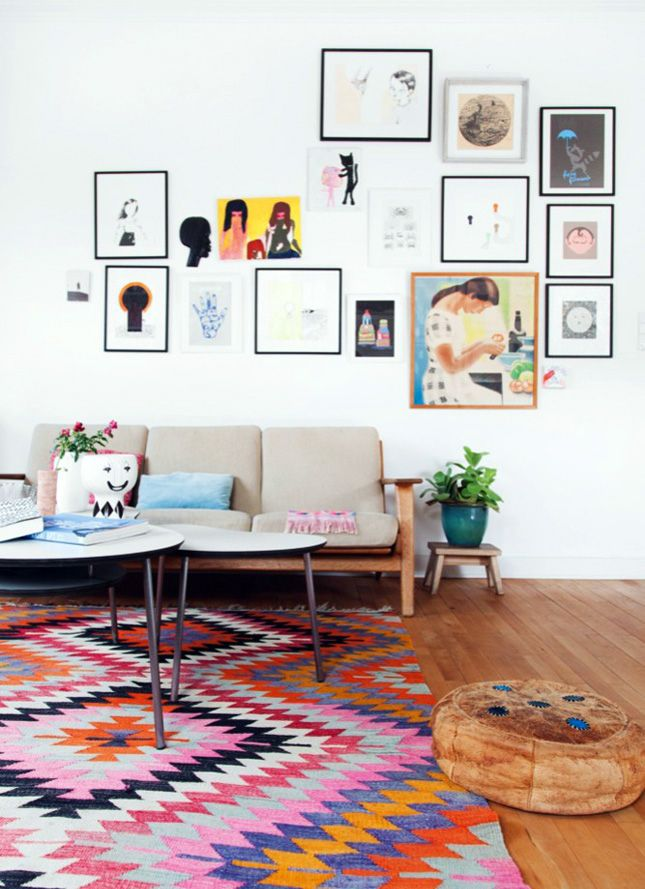 22 Swoon-Worthy Salon Walls You Should Probably Pin via Brit + Co