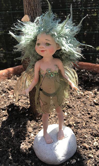 Pazzy #ooak #fairy #prosculpt #livingdoll