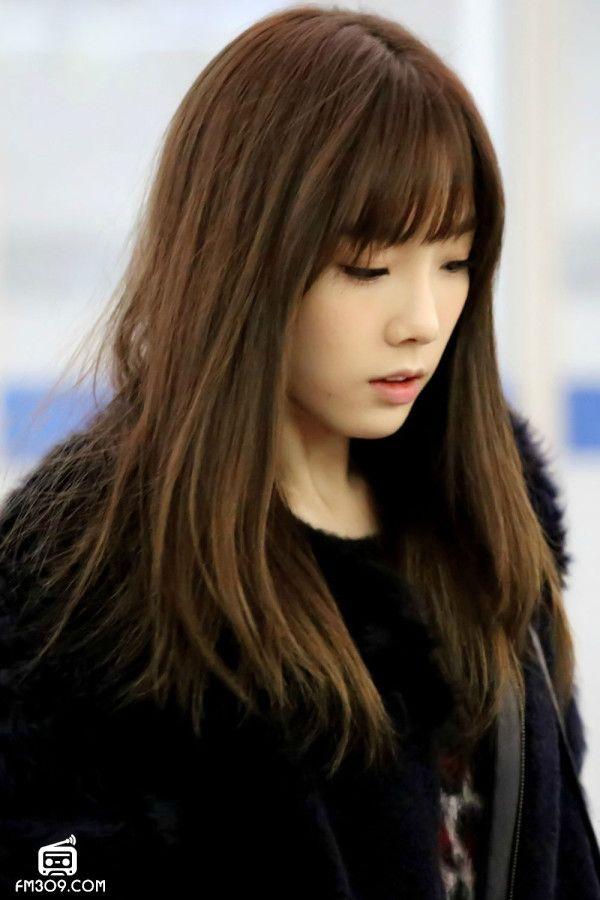 SNSD Taeyeon Incheon Airport to Bangkok 140110