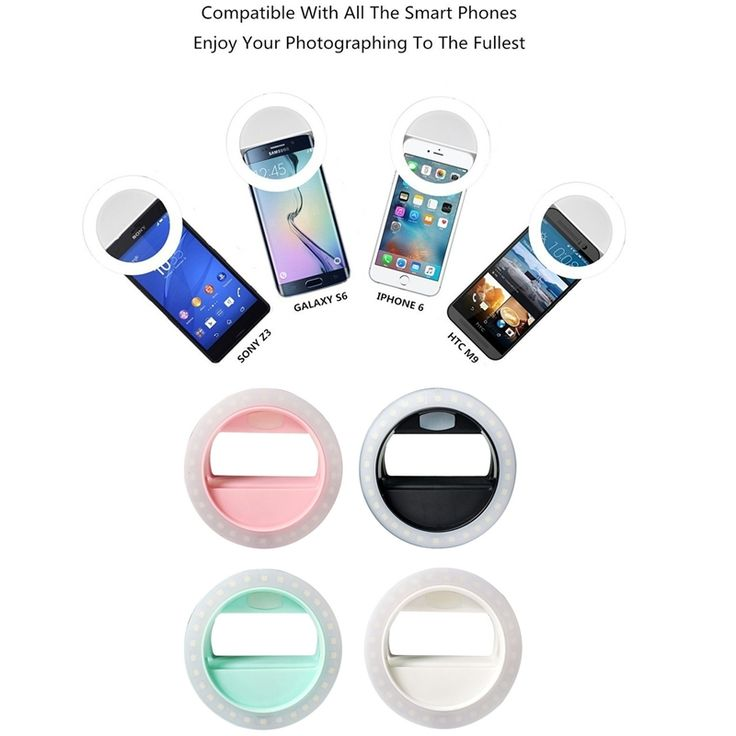 Rechargeable battery 4 levels Selfie Portable Led Camera Phone Photography Ring Light Enhancing Photography for iPhone. Click visit to buy #Photographic #Lighting #PhotographicLighting