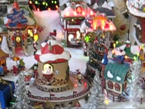 Christmas Home Decorating Youtube Christmas Village Ideas Pinterest Garlands Light
