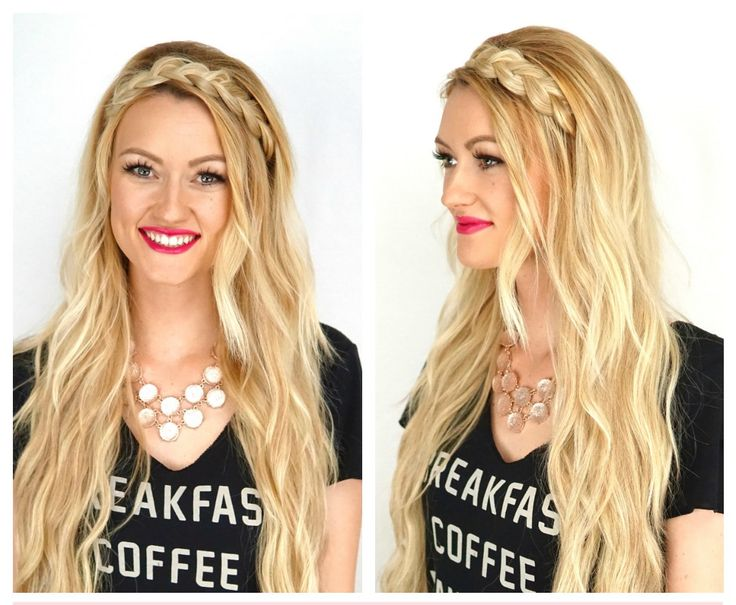 30 best hair tutorials images on pinterest cashmere hair hair braided headband tutorial by cashmere hair extensions makenna ashley pmusecretfo Choice Image