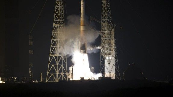 Weather satellite captures its twin satellite being launched into space