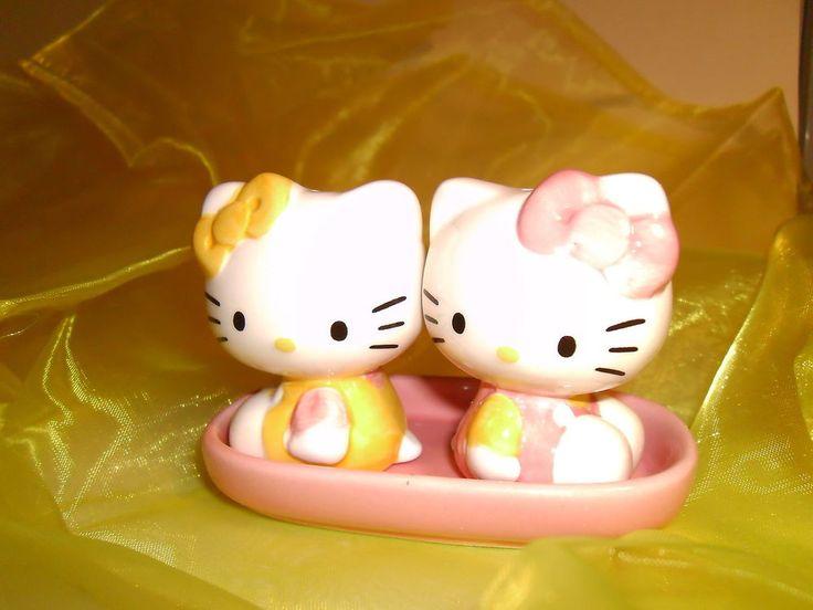 Set de sel et poivre Hello Kitty ref 90