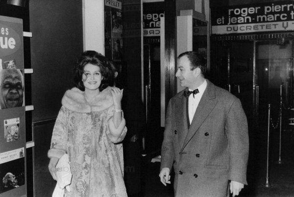 Dali et Fernand Raynaud dans les années 60...