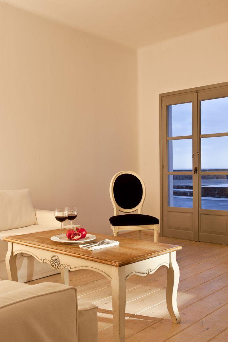 Inside of Thermes #luxury Villas.. #Santorini #summerholidays