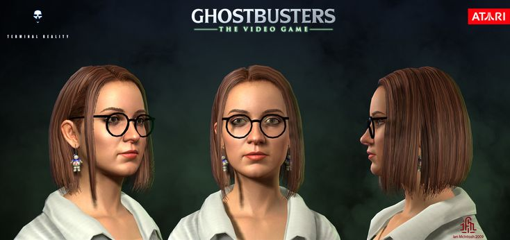 ArtStation - Ghostbusters the Video Game - Janine Melnitz, Ian McIntosh