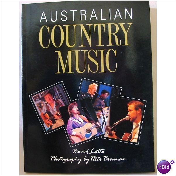 Australian Country Music S/C x David Latta on eBid Australia