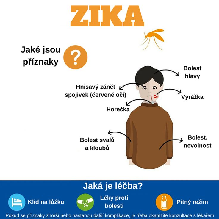 U všech tří pacientů Nemocnice Na Bulovce s potvrzeným virem #Zika je průběh mírný a léčba probíhá ambulantně.
