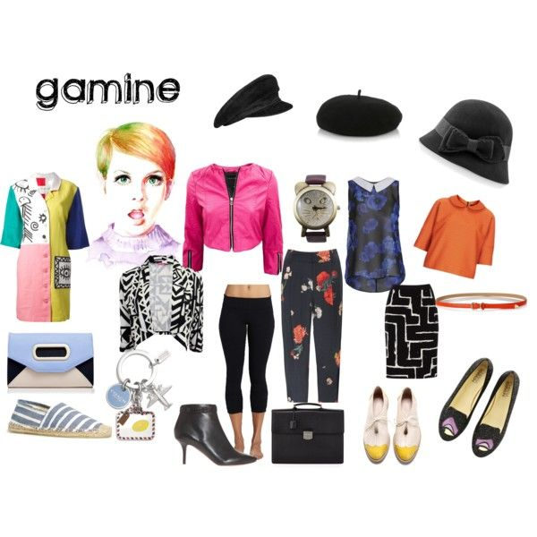 gamine by expressingyourtruth on Polyvore featuring Ayarisa, Boutique, Beyond Yoga, Alice + Olivia, Jaeger, Chiara Ferragni, Proenza Schouler, Soludos, Forever New and Lalù