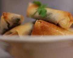 Recette Nems de boudin noir aux pommes (facile, rapide)