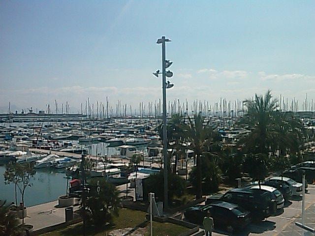Marina in Alcudia, Majorca, Spain