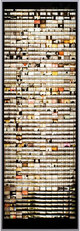 Windows, from Ponte City  Mikhael Subotzky, in collaboration with Patrick Waterhouse