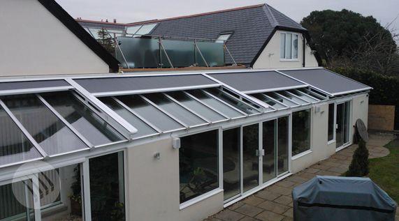 Conservatory Roof Blinds Skylight Blinds External Roof Blinds Conservatory Roof Blinds Skylight Blinds Conservatory Roof