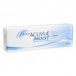1-Day Acuvue Moist contact lenses for astigmatism are daily disposable lenses used for overcoming astigmatism. Astigmatism is an optical medical condition in which optics of the eyes is unable to focus an image on the retina.