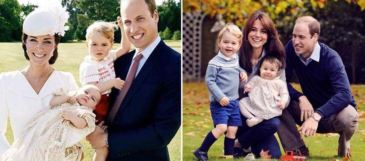 William e Kate: ecco la foto con i figli per gli auguri di Natale