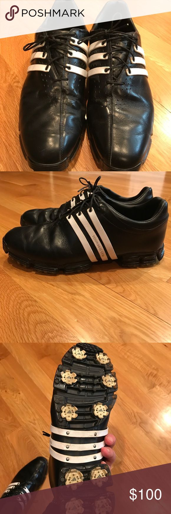 Adidas Black Tour360 LTD Golf Shoes These golf shoes are in great condition and go with any golf attire! Comment if you have any questions! adidas Shoes Athletic Shoes