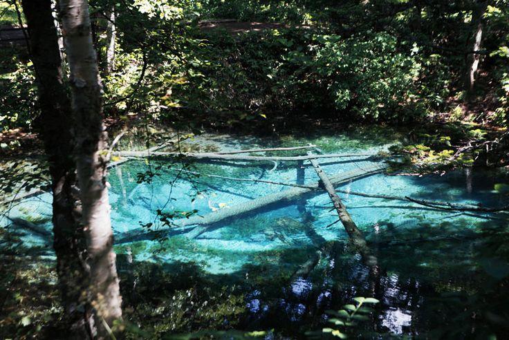 【北海道】まるでガラスのような透明度。パワーがもらえる青い泉〈神の子池〉の画像 コロカル by マガジンハウス | antenna