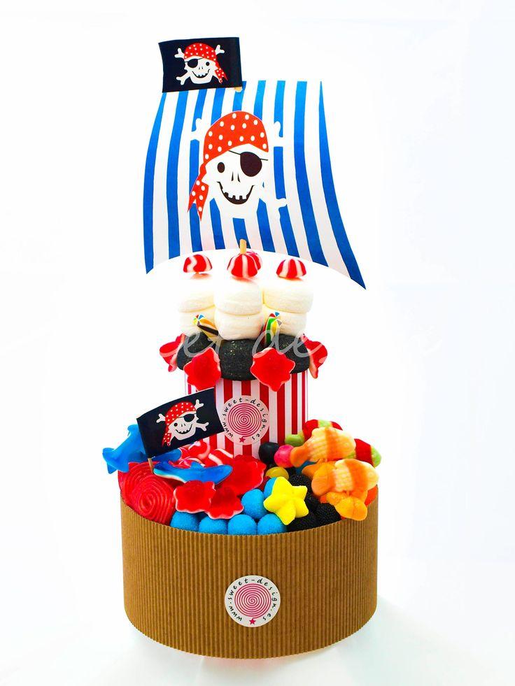 Tarta Pirata de Dos Pisos