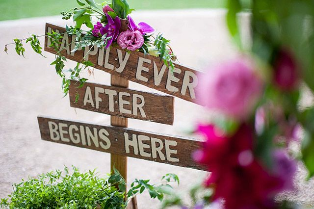 Happily ever after starts here! Image: Solas Photography