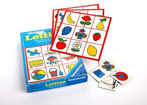 LOTTINO; Een lottospel voor 1-6 kinderen van 3 tot 6 jaar.