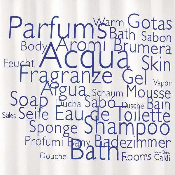 Shower curtain / cortina de ducha / Rideaux de duche. Modelo Perfumes de Juma. Made in Barcelona. www.cha-cha.es