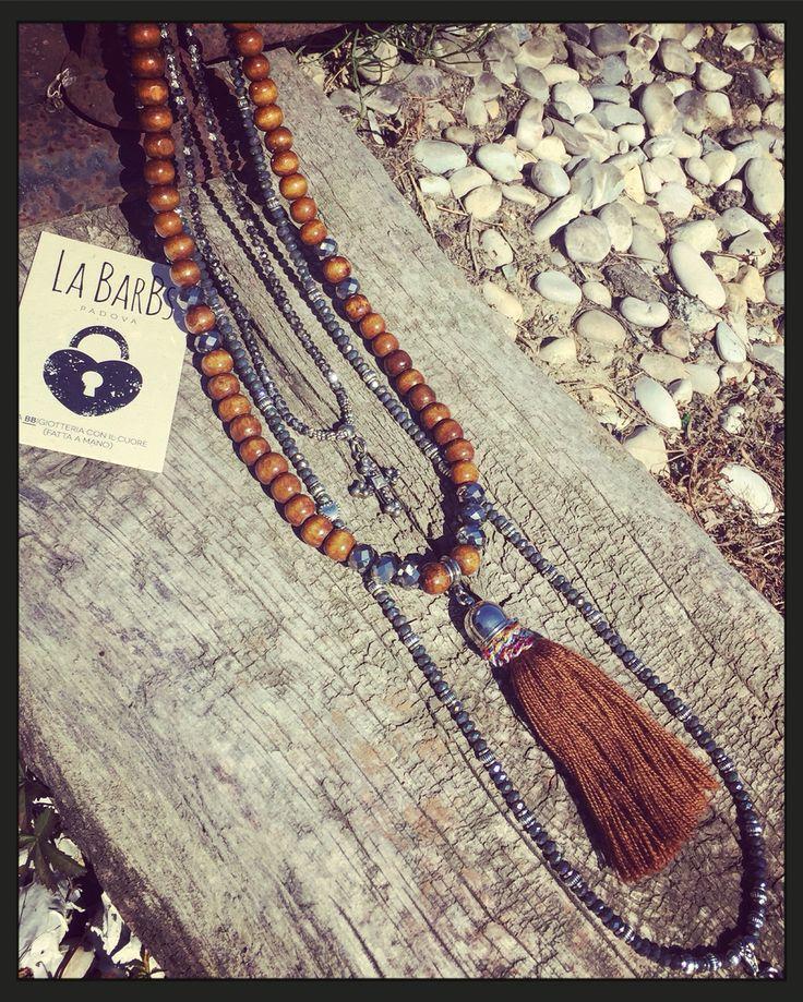 La BarBs Wood and Tassel❣