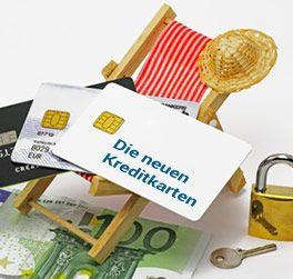 Die neuen diestahlsicheren Kreditkarte ohne lästige Gebühren sind da!