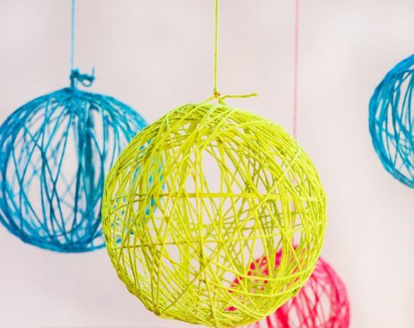 Este enfeite barato para festa infantil deve ter uma cor que combine com a decoração de sua festa (Foto: blog.hwtm.com)