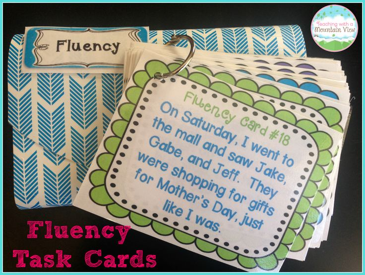 Fluency Task Cards BUNDLE { Oral Reading Fluency Practice }A HUGE bundle of 128 Fluency Task Cards with varied sentence types to help your students practice their oral reading fluency! Perfect small group, whole group, or independent center fluency activity. $
