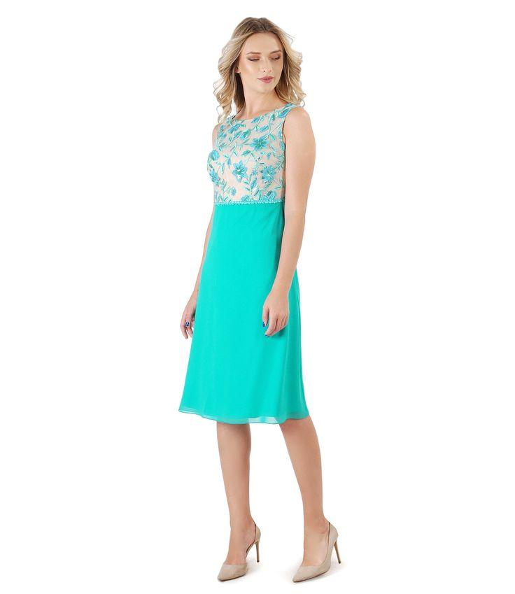 Romantic dress for romantic evenings  Summer17 | YOKKO #dress #flowers #color #lace #women #party #evening #yokko #fashion #style #dance #romantic #summer17