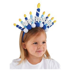 This Happy Hanukkah Headband is such a fun way for kids to get into the holiday spirit!