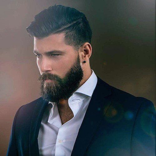 beardsaresexy_fracrox_high fade combover pomp nicely groomed beard