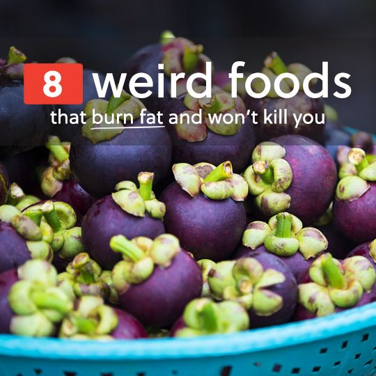 It's only weird if you've never tried it or seen it before, and these foods don't show up too often in supermarkets. Nevertheless, they're worth seeking out because they'll help with your fat loss efforts, they taste good, and they won't do you any harm.