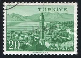Turkey Stamp 1959 - Antalya