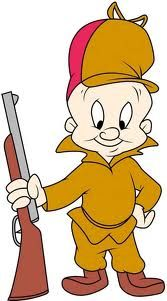Elmer Fudd hunting the KWAZY WABBIT