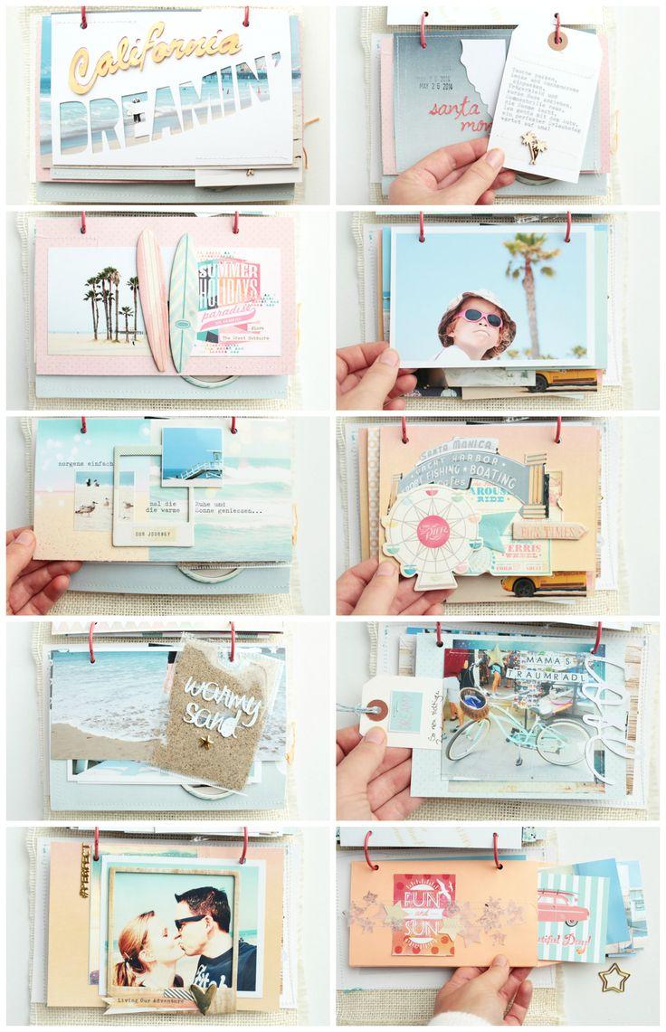 Die 25 besten ideen zu erinnerungsalben auf pinterest scrapbooking ideen sammelalbum - Scrapbook ideen ...