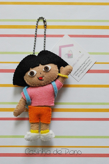 Dora by Casinha de Pano, via Flickr