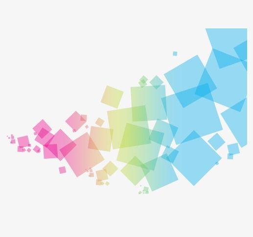 المربعات الملونة, ناقلات, مشرق, لون PNG و فيكتور