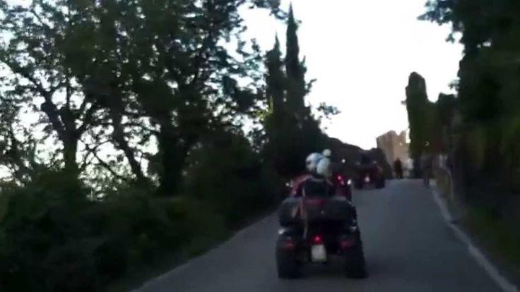 QUADCENTER MAROSTICA escursione quad con finale al Castello Superiore di...