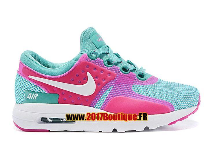 Nike Air Max Zero (PS) Chaussure Nike Sportswear Pas Cher Pour Petit Enfant  Rose