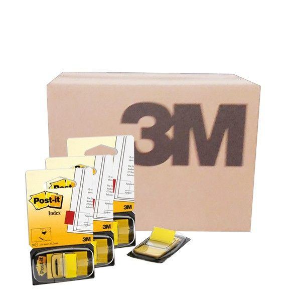"""Post-it Flag 680-5 Yellow (grosir) - Harga Kertas Post-it 3M Warna Kuning Murah di Jual secara Online  Mencari informasi dengan lebih cepat dengan Post-it® Flag.  Pembatas halaman berbahan film yang dapat di tulisi, lebih tahan lama.     ( Size : 1"""" x 1.7"""", 50 sheets/each, 36 Each/Ctn)  - Harga per CTN  http://tigaem.com/post-it-grosir/965-post-it-flag-680-5-yellow-grosir-harga-kertas-post-it-3m-warna-kuning-murah-di-jual-secara-online.html  #postit #memo #notes #3M"""
