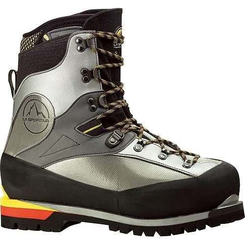 La Sportiva Baruntse Mountaineering Boot  Mens Silver 475 -- Details can be found by clicking on the image.