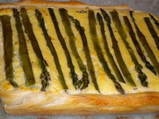 Las recetas de Mabel Mendez: Pastel de esparragos de Jamie Oliver