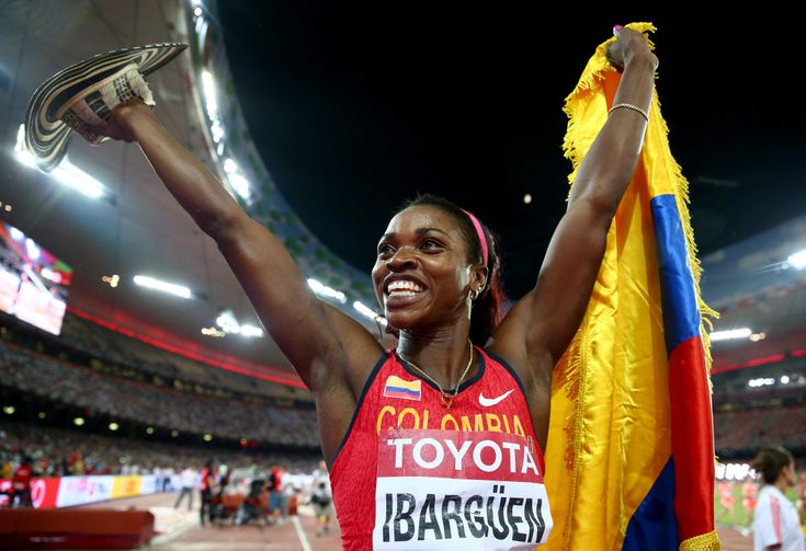 La colombiana Caterine Ibargüen es la mejor atleta del mundo en 2018 Broadway Shows, World, Schedule, Athlete, Sports, Olympic Games, Cartagena, Short Stories