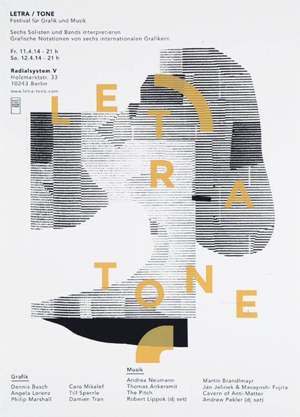 It's Nice That : Sweet collaged gig posters by Berlin's Damien Tran