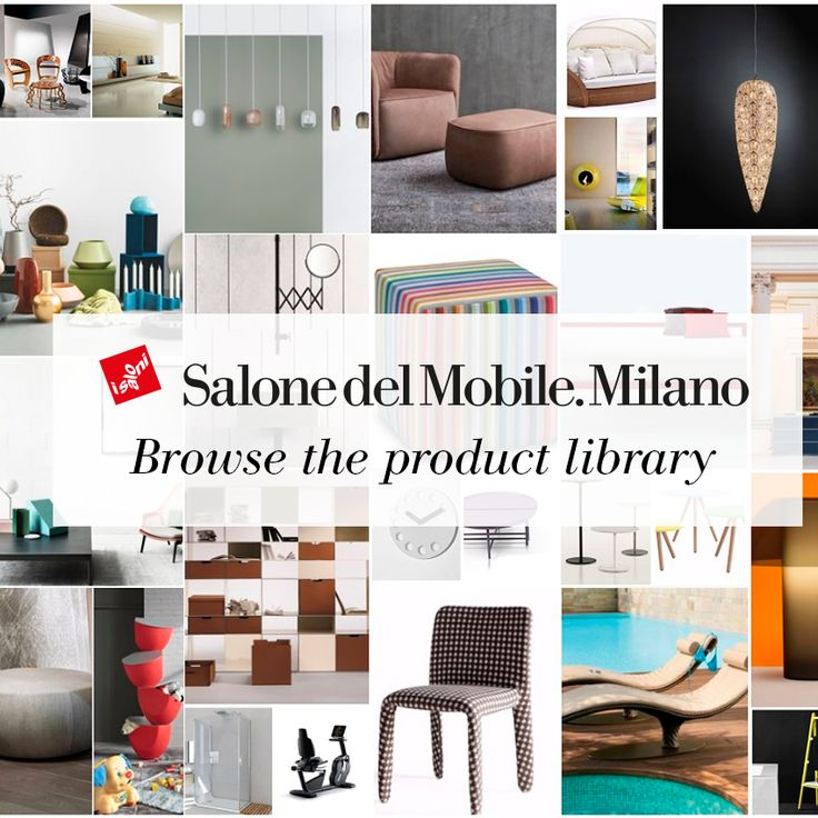 Did you miss the annual appointment with the Salone del Mobile.Milano? Make up for it by browsing the product library now available on our website!