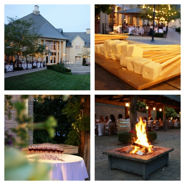 Fine dining is having an exclusive dinner at an estate winery with ice wine marshmallows for dessert!