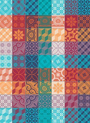 Garnier Thiebaut Mille Tiles 1000 Tiles Multicolor French